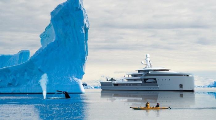 SeaXplorer - яхта-ледокол.