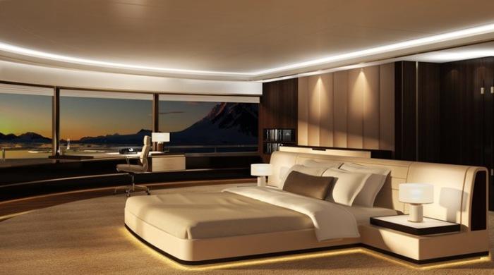 Уникальная спальня.
