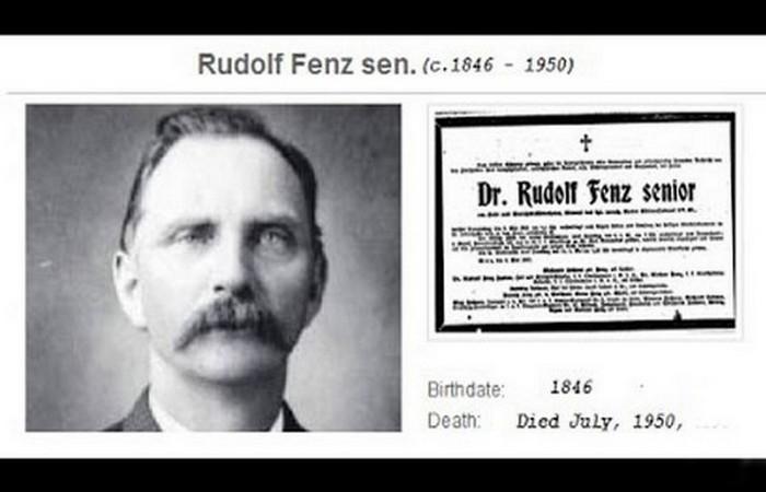 Любопытный случай Рудольфа Фенца.