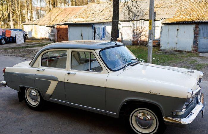 ГАЗ-21 Волга, который водит китаец.