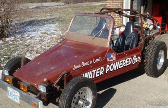 Отложенное изобретение: автомобиль на воде.