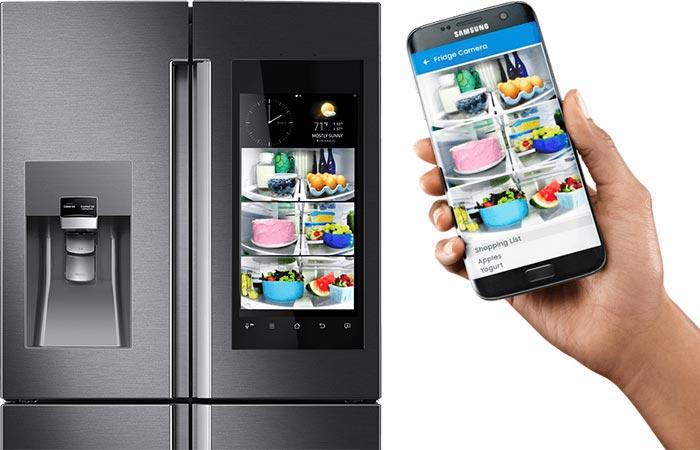 Новейший холодильник для ваших продуктов.