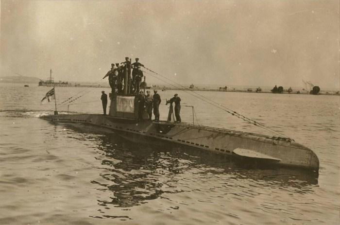 Подводные лодки были проблемой. |Фото: tv2.today.