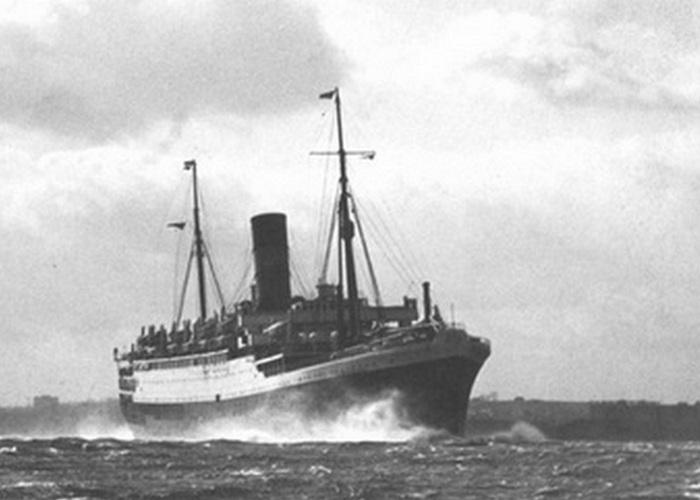 Пассажирский лайнер «Ланкастрия».