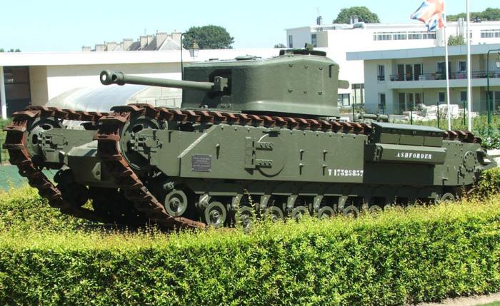 Огнеметные танки были весьма популярны.