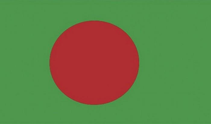 Флаг Бангладеша.