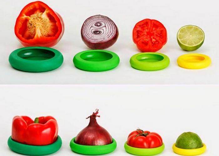 Приспособления для хранения овощей и фруктов Food Huggers.