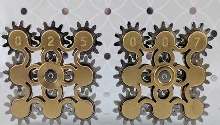 Спиннер «9 Gear Fidget Spinner».