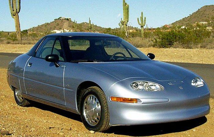 Отложенное изобретение: полностью электрический автомобиль (не гибрид).