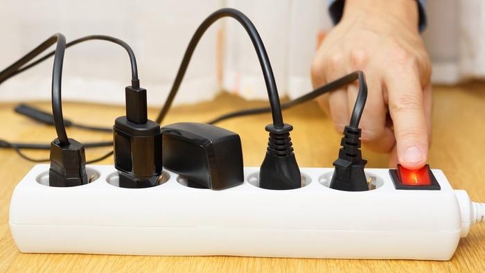 Правило экономии: отключать все приборы, когда они не используются.