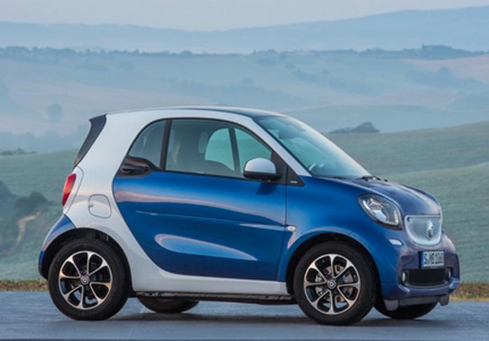 Автомобиль Smart fortwo pure.