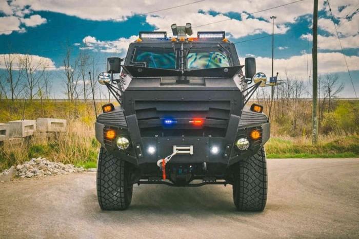 Huron APC и другие роскошные броневики