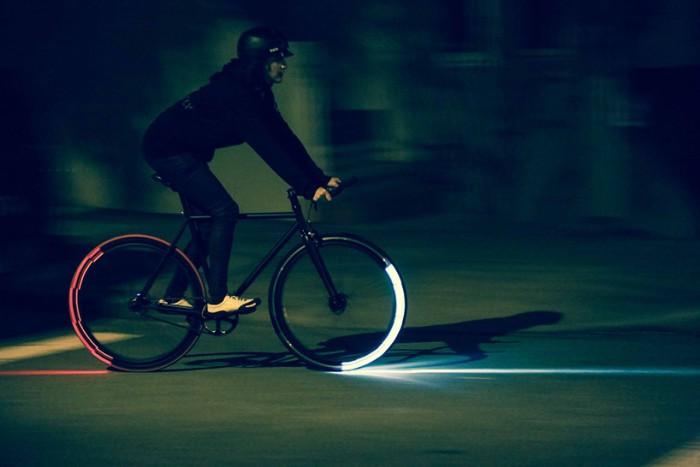 Велосипедные осветители.