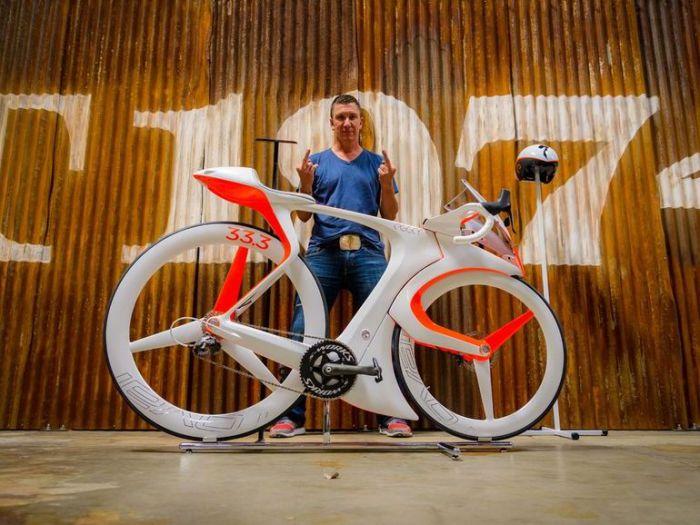 Дизайнерский велосипед fUCI.