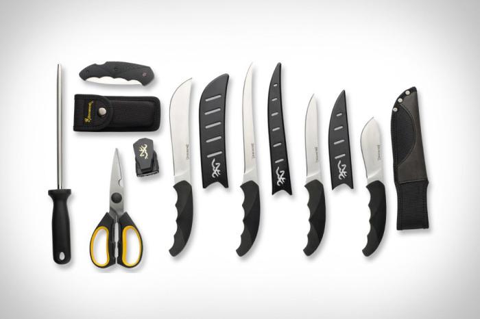 Отличные ножи для работы на кухне.