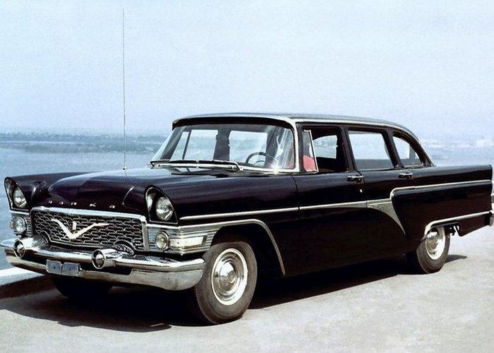 Автомобиль ГАЗ-13 Чайка.