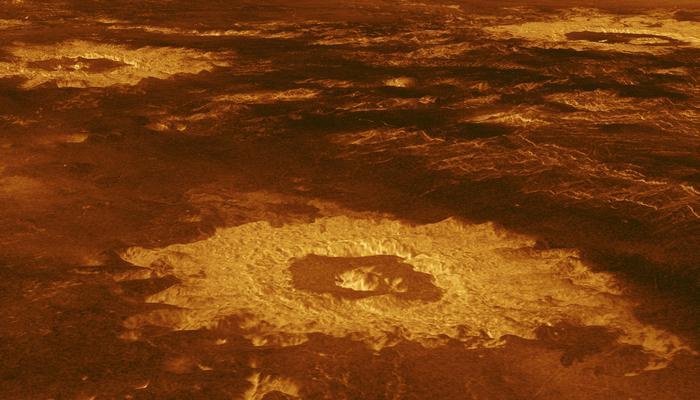 Температура на поверхности Венеры.