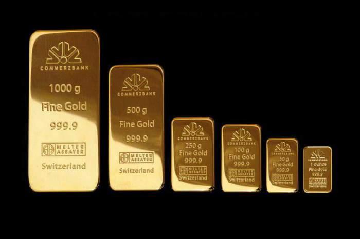 Всегда ценилась чистота золота.