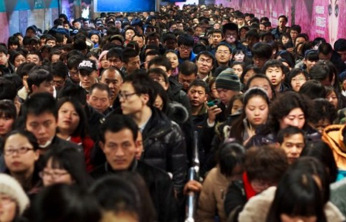 Перенаселение в Китае.