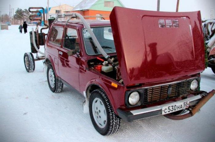 Сам автомобиль дорабатывать почти не пришлось. |Фото: ribalych.ru.
