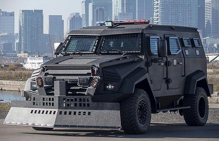Sentry APC Assault Vehicle.