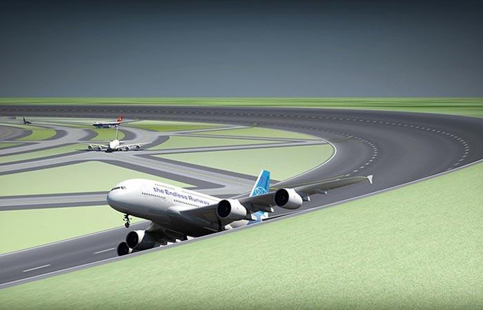 Новейший аэропорт.