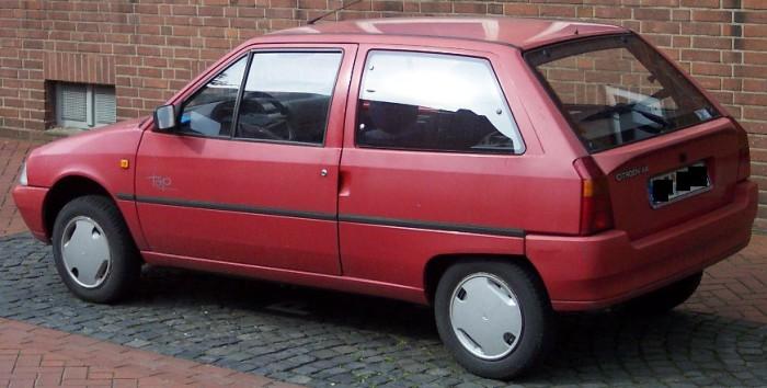 Citroën AX: 4.8 литров на 100 км.