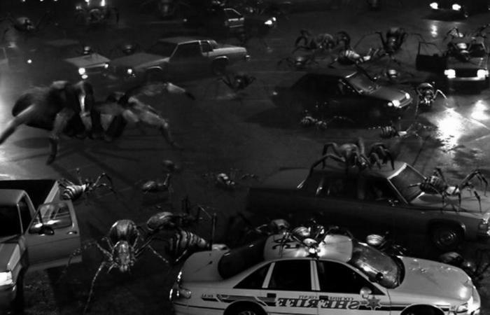 Кадр из фильма «Атака пауков».