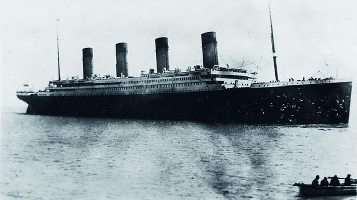 Последняя фотография Титаника.