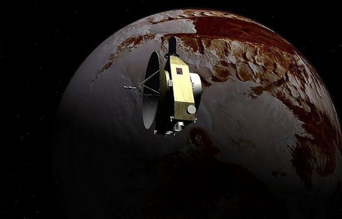 Зонд New Horizons пролетел вблизи Плутона.