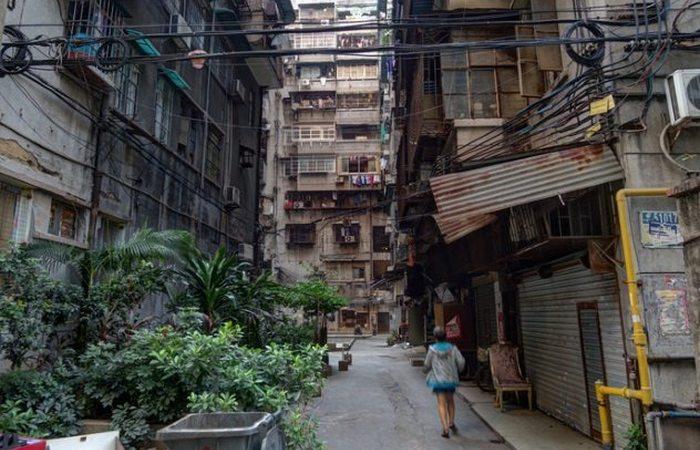 Распределение богатств в Китае.