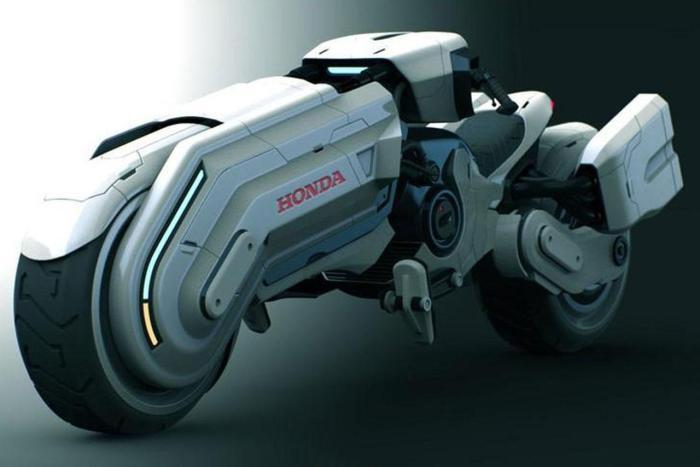Концептуальный мотоцикл Honda Chopper Concept.