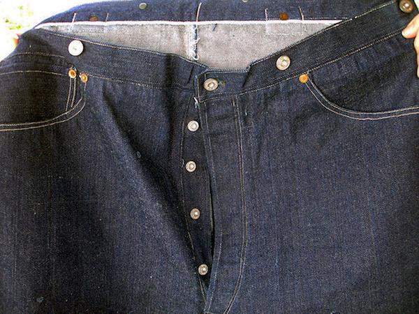 124-летние джинсы Levi's в США.