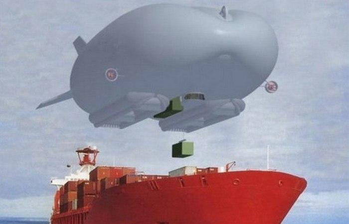 Возможна транспортировка людей, транспорта, контейнеров.