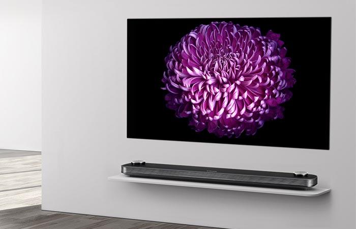 Супер тонкий телевизор.