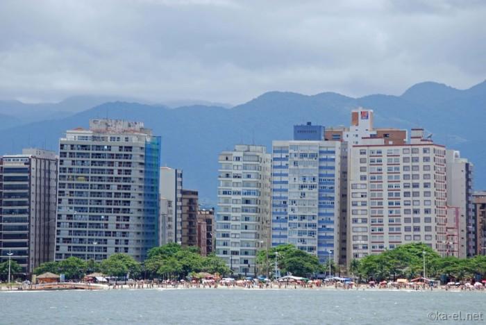 Кривые дома в Сан-Паулу.