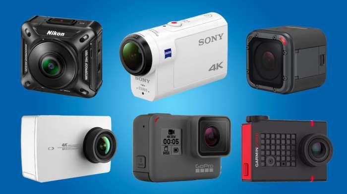 Лучшие экшен-камеры уходящего 2016 года.