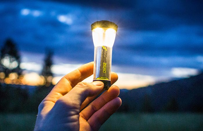 Новый фонарик для разных целей.