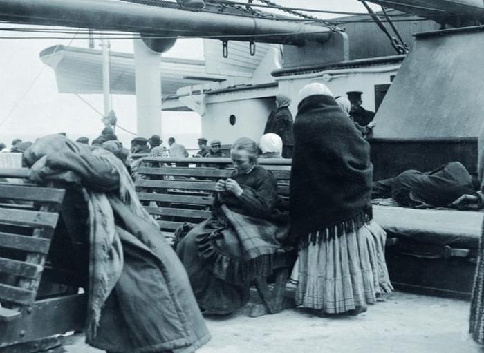 Пассажиры нижней палубы Титаника.