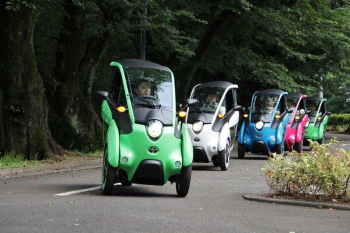 Новый невероятный электромобиль.