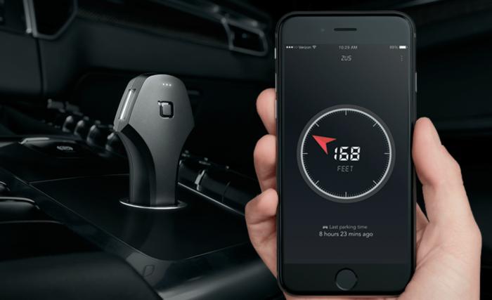 Zus - зарядка гаджетов и поиск авто.