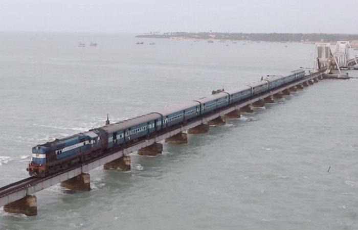 Завораживает и пугает: «Мост Ченнай-Рамешварам».