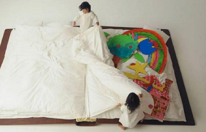 Кровать-книга.
