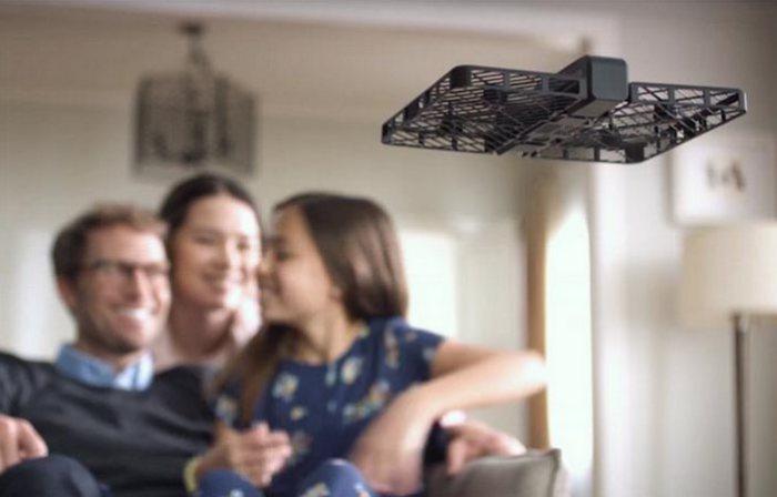 На дроне установлена 13-мегапиксельная камера.