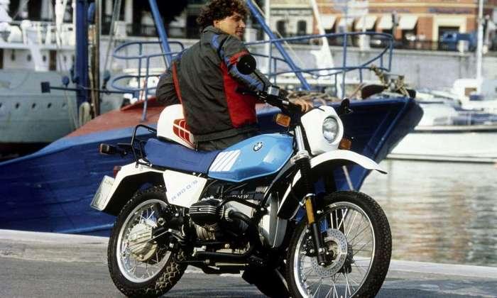 Байк из легенды BMW R 80 G/S.