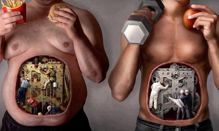 Польза голодания: ускорение метаболизма.
