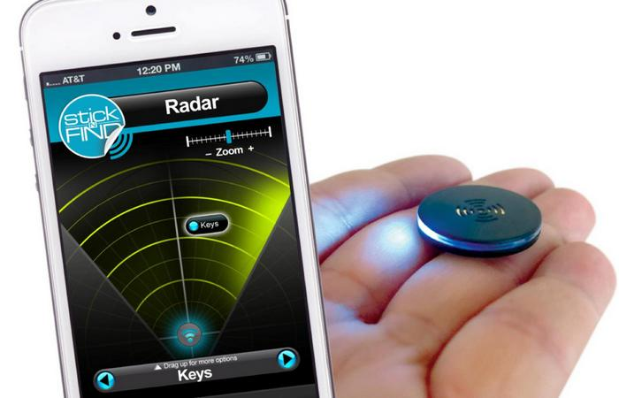 Bluetooth-маячок Trackr Stickr.