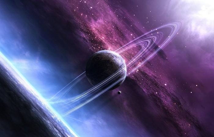 Естественные радиоволны Сатурна.