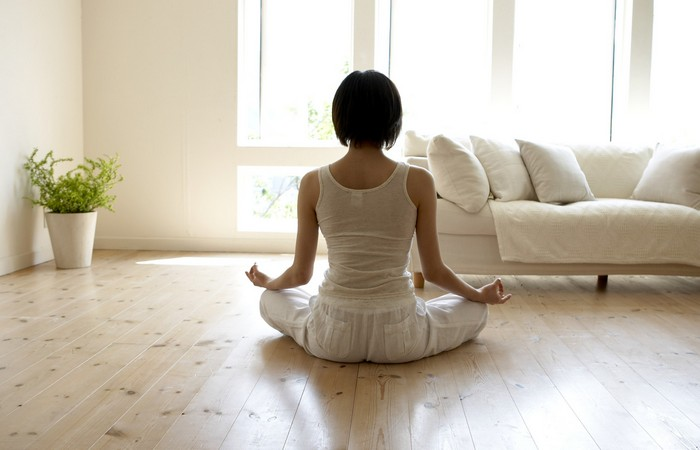 Поможет заснуть: медитация.