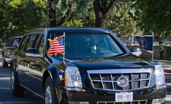 Автомобиль президента.
